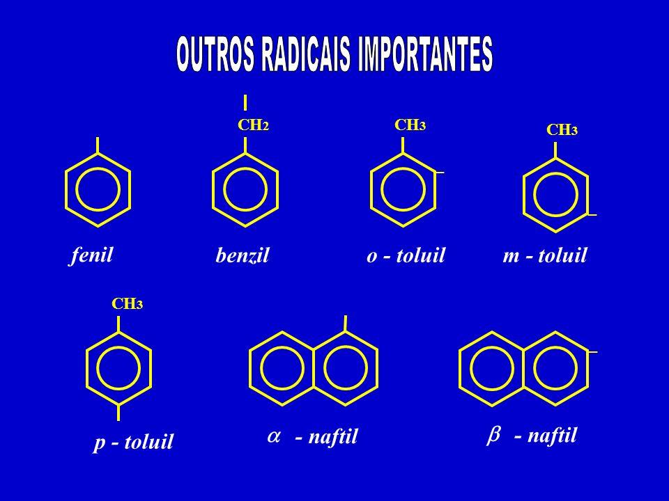 OUTROS RADICAIS IMPORTANTES