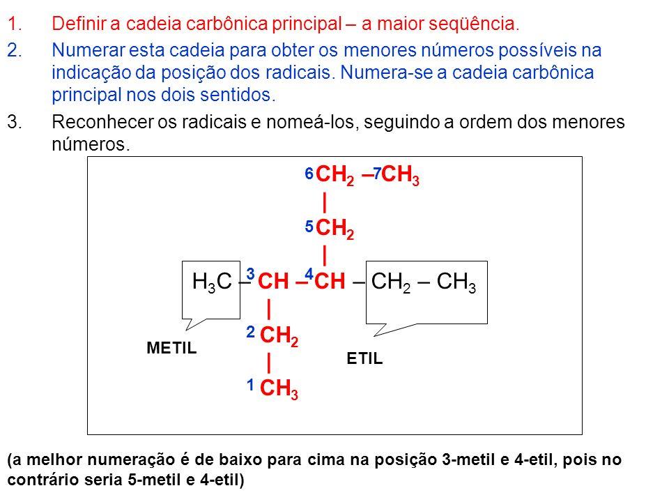 CH2 – CH3 | CH2 H3C – CH – CH – CH2 – CH3 CH3