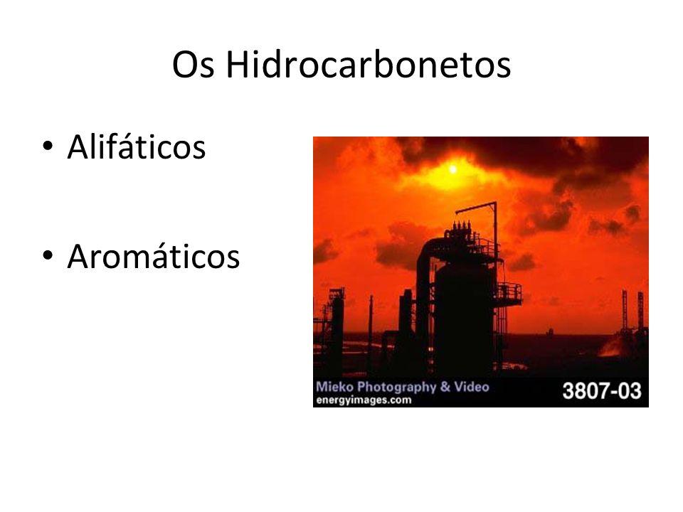 Os Hidrocarbonetos Alifáticos Aromáticos