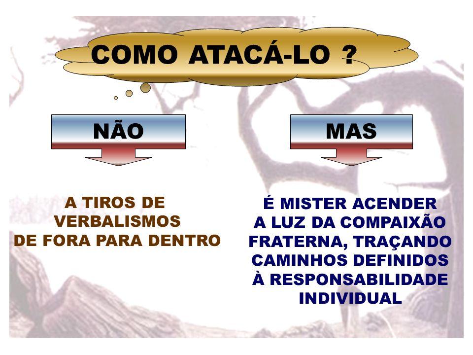 COMO ATACÁ-LO NÃO MAS A TIROS DE É MISTER ACENDER VERBALISMOS