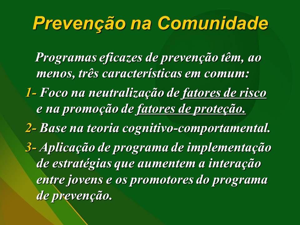 Prevenção na Comunidade