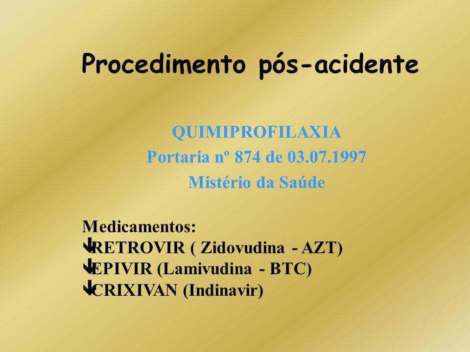 Procedimento pós-acidente
