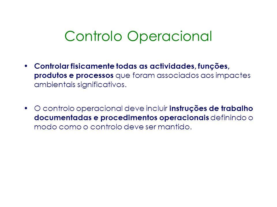 Controlo Operacional