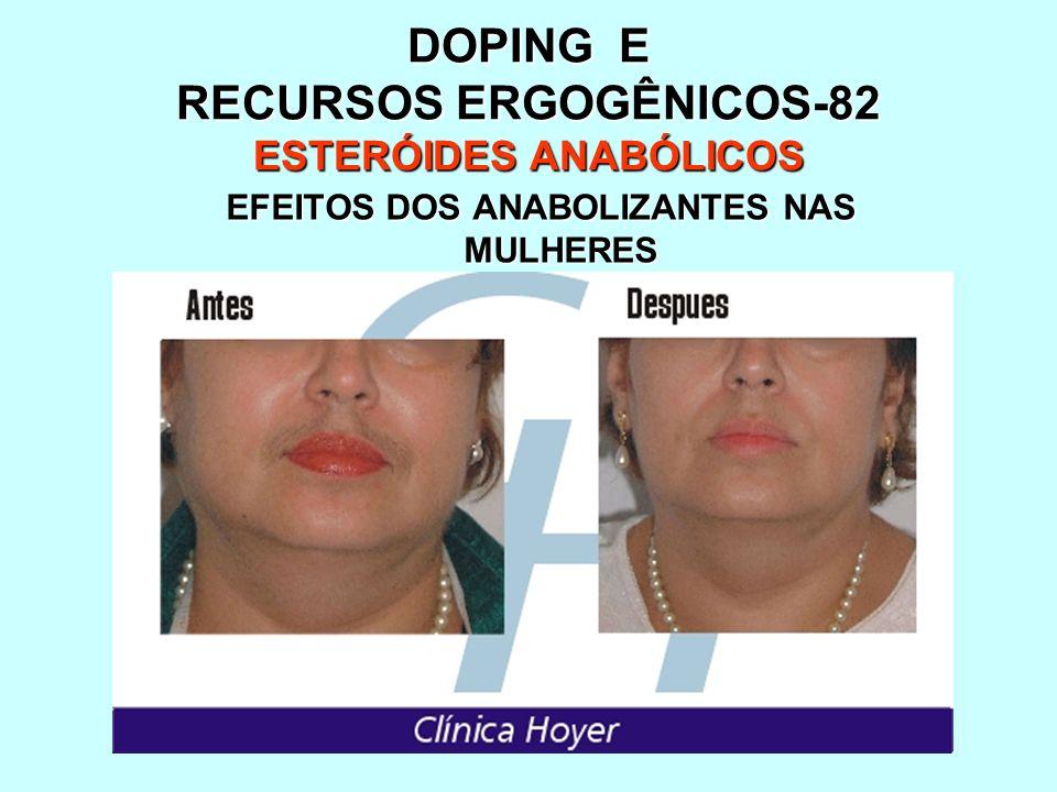 DOPING E RECURSOS ERGOGÊNICOS-82 ESTERÓIDES ANABÓLICOS
