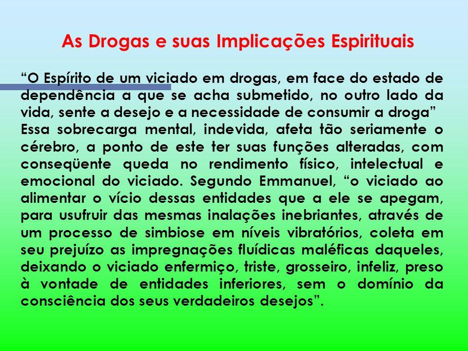 As Drogas e suas Implicações Espirituais