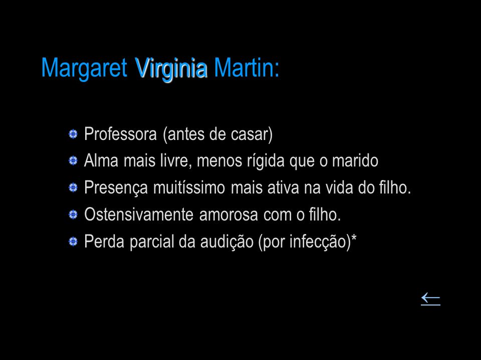 Margaret Virginia Martin:
