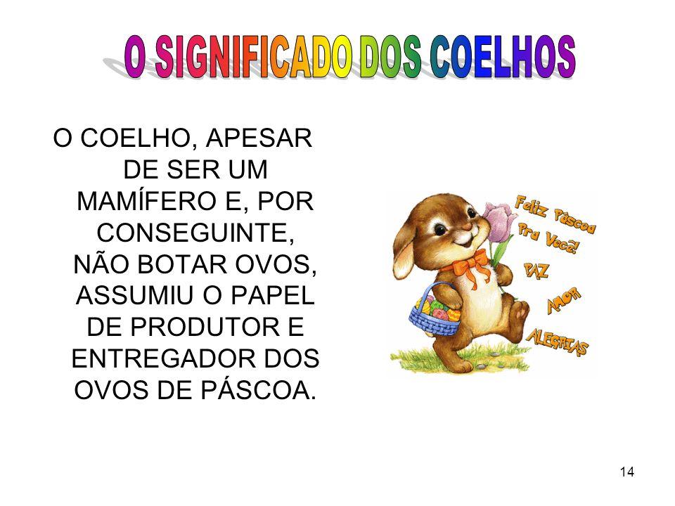 O SIGNIFICADO DOS COELHOS