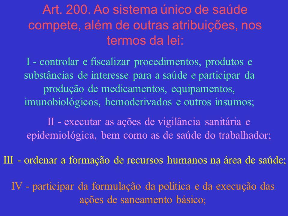 III - ordenar a formação de recursos humanos na área de saúde;