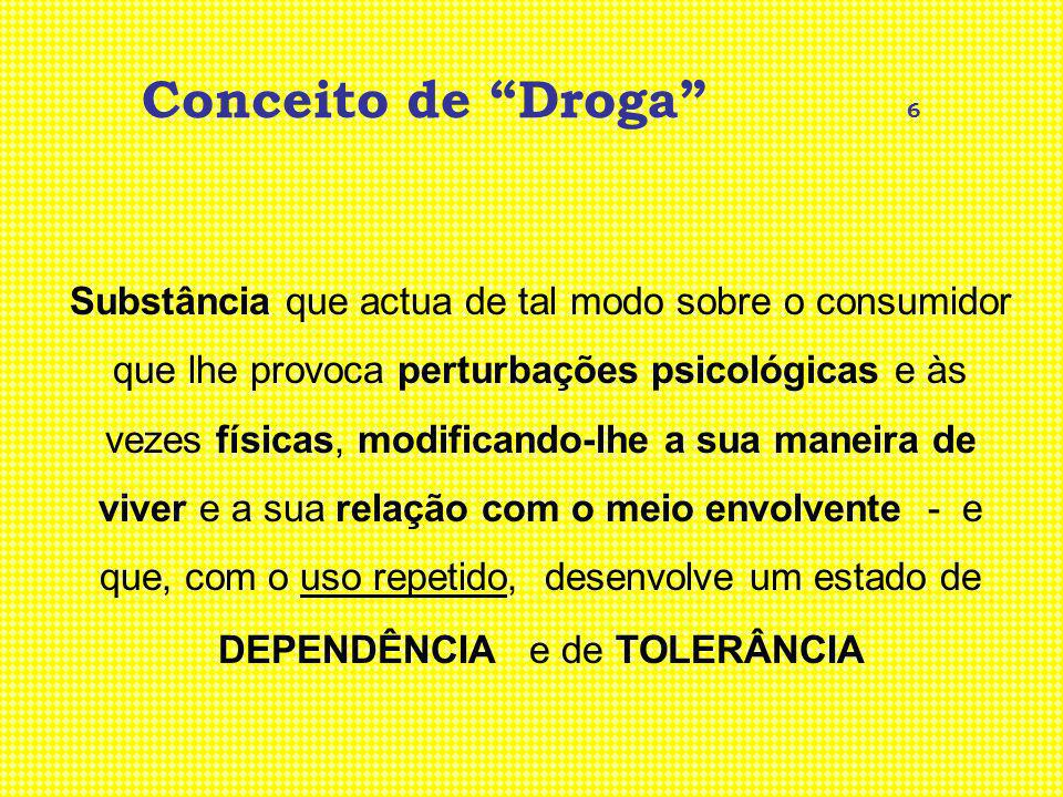 Conceito de Droga 6