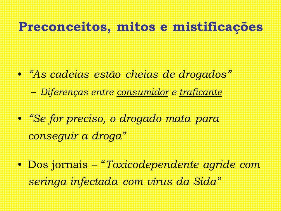 Preconceitos, mitos e mistificações