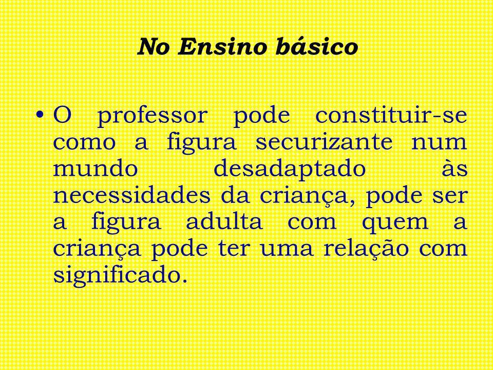 No Ensino básico