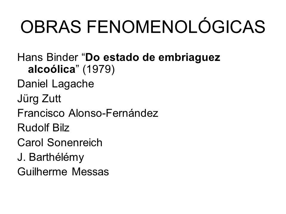 OBRAS FENOMENOLÓGICAS
