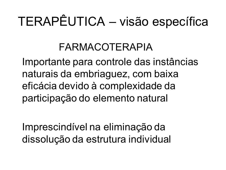 TERAPÊUTICA – visão específica