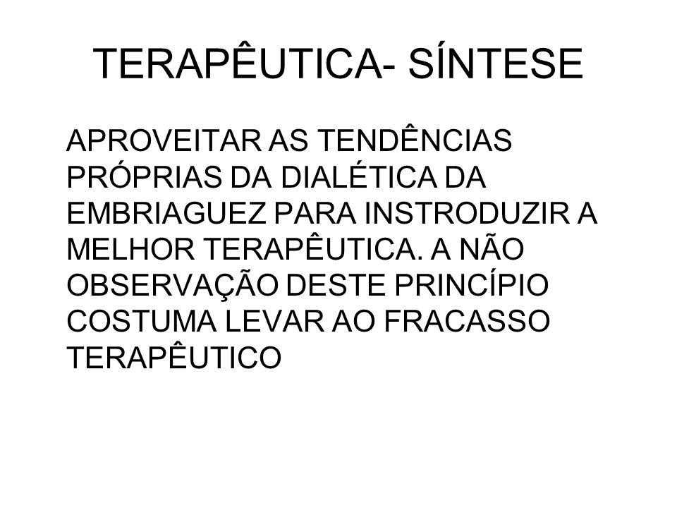TERAPÊUTICA- SÍNTESE
