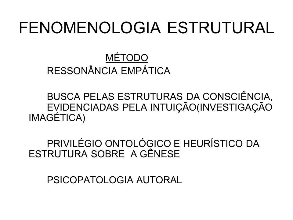 FENOMENOLOGIA ESTRUTURAL