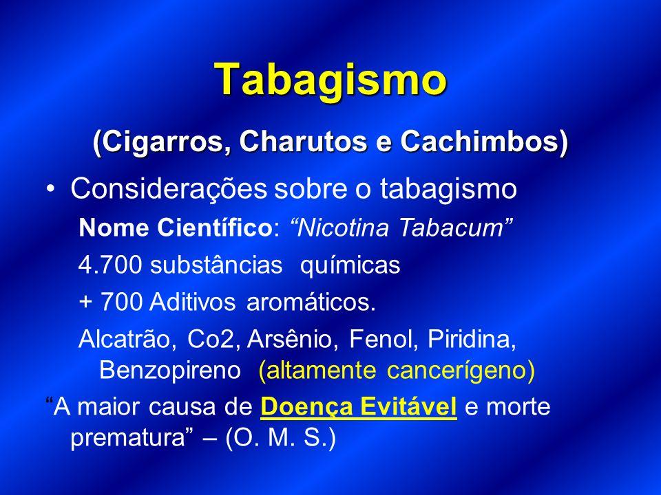 Tabagismo (Cigarros, Charutos e Cachimbos)