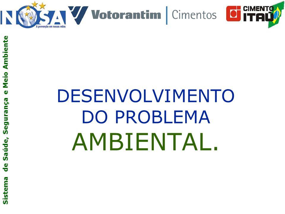 DESENVOLVIMENTO DO PROBLEMA AMBIENTAL.