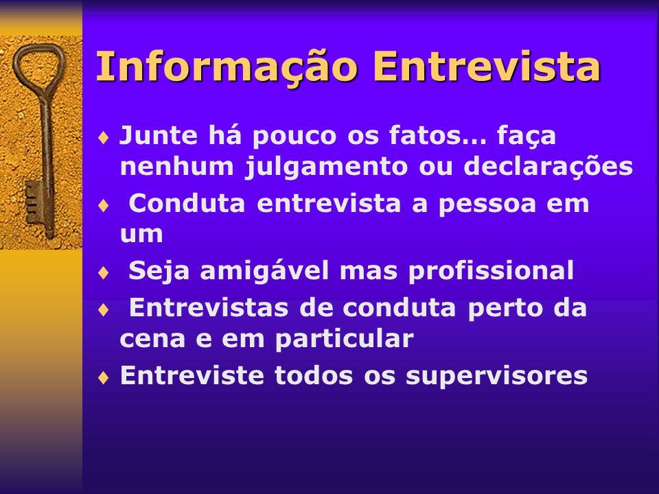 Informação Entrevista