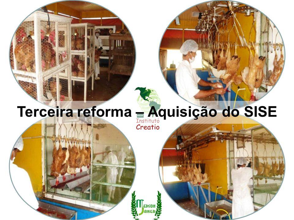 Terceira reforma – Aquisição do SISE