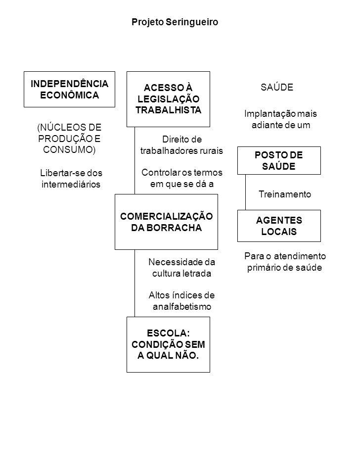 INDEPENDÊNCIA ECONÔMICA ACESSO À LEGISLAÇÃO TRABALHISTA SAÚDE