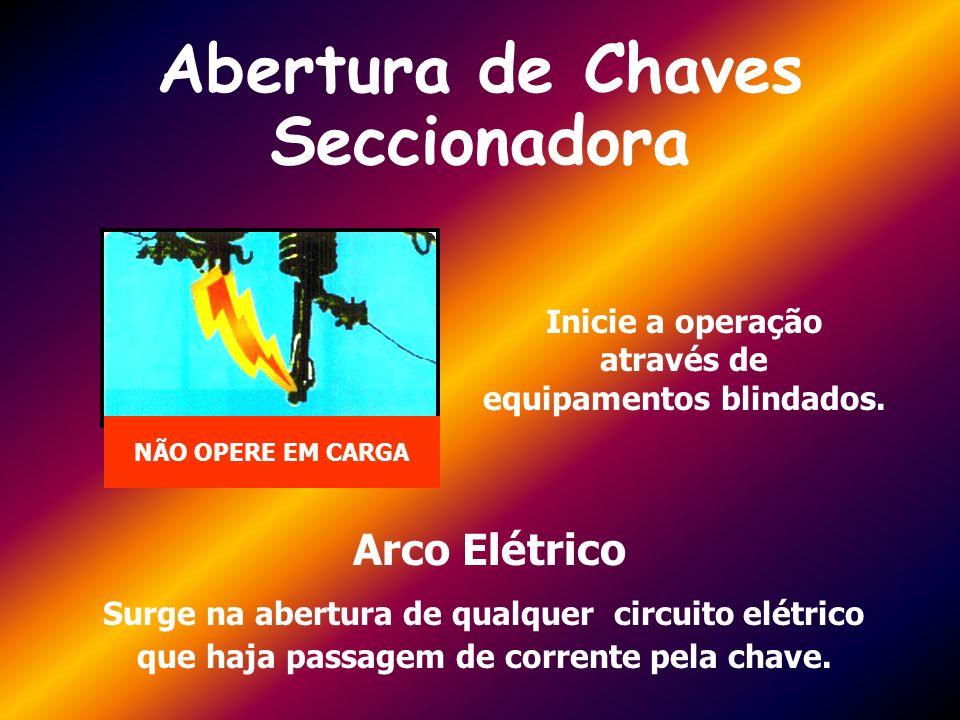 Abertura de Chaves Seccionadora