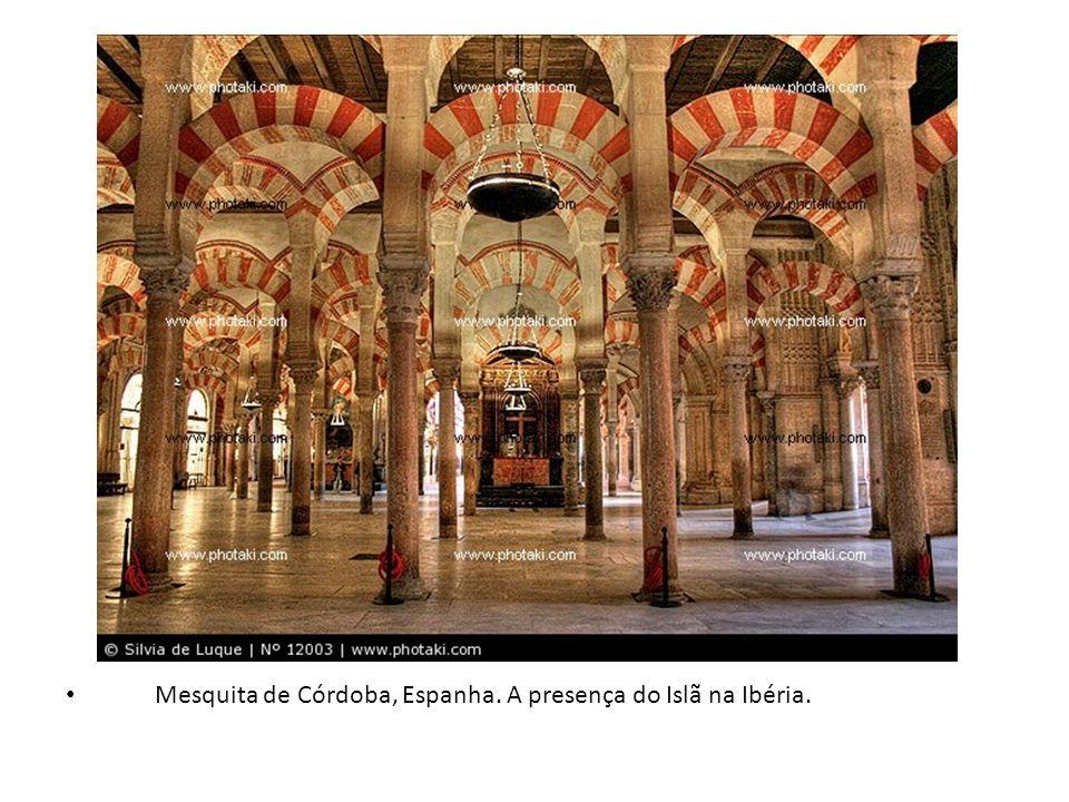 Mesquita de Córdoba, Espanha. A presença do Islã na Ibéria.