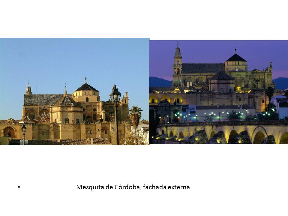 Mesquita de Córdoba, fachada externa