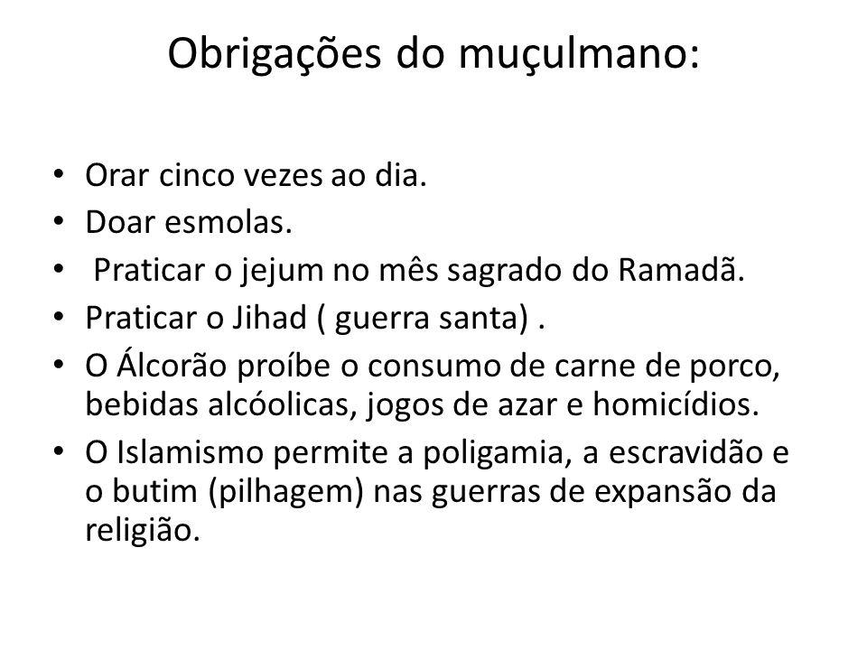 Obrigações do muçulmano: