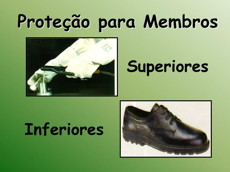 Proteção para Membros Superiores Inferiores