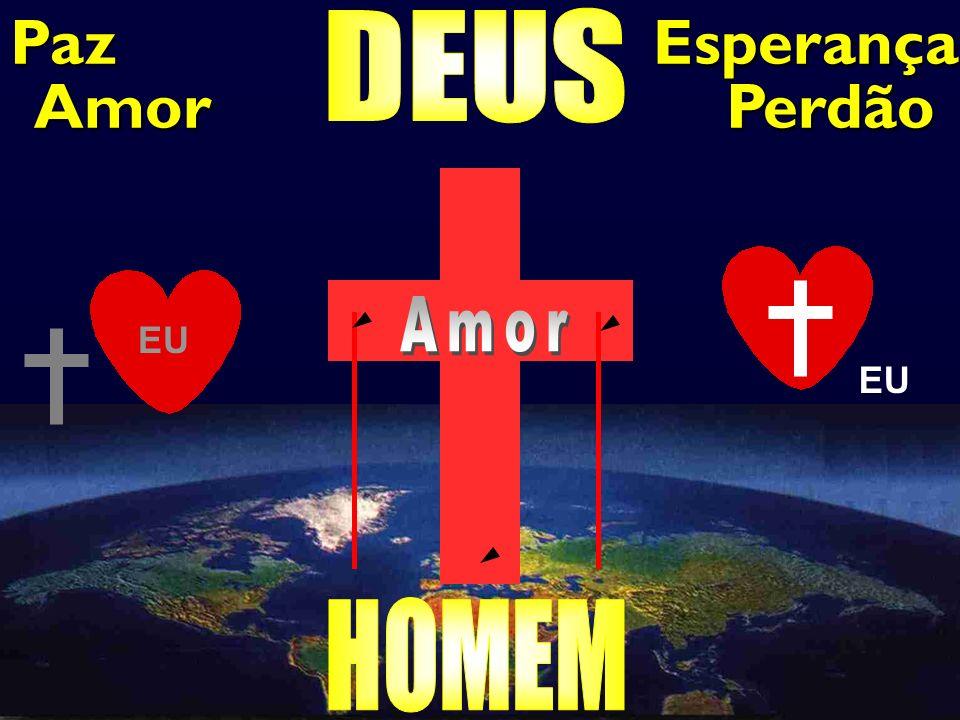 Paz Esperança DEUS Amor Perdão Pecado Amor EU EU HOMEM