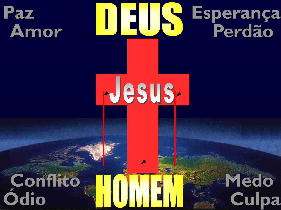 Jesus Paz Esperança Amor Perdão Conflito Medo Ódio Culpa DEUS Pecado