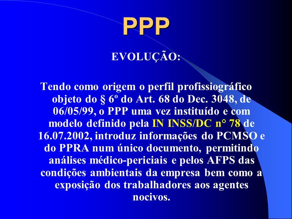 PPP EVOLUÇÃO: