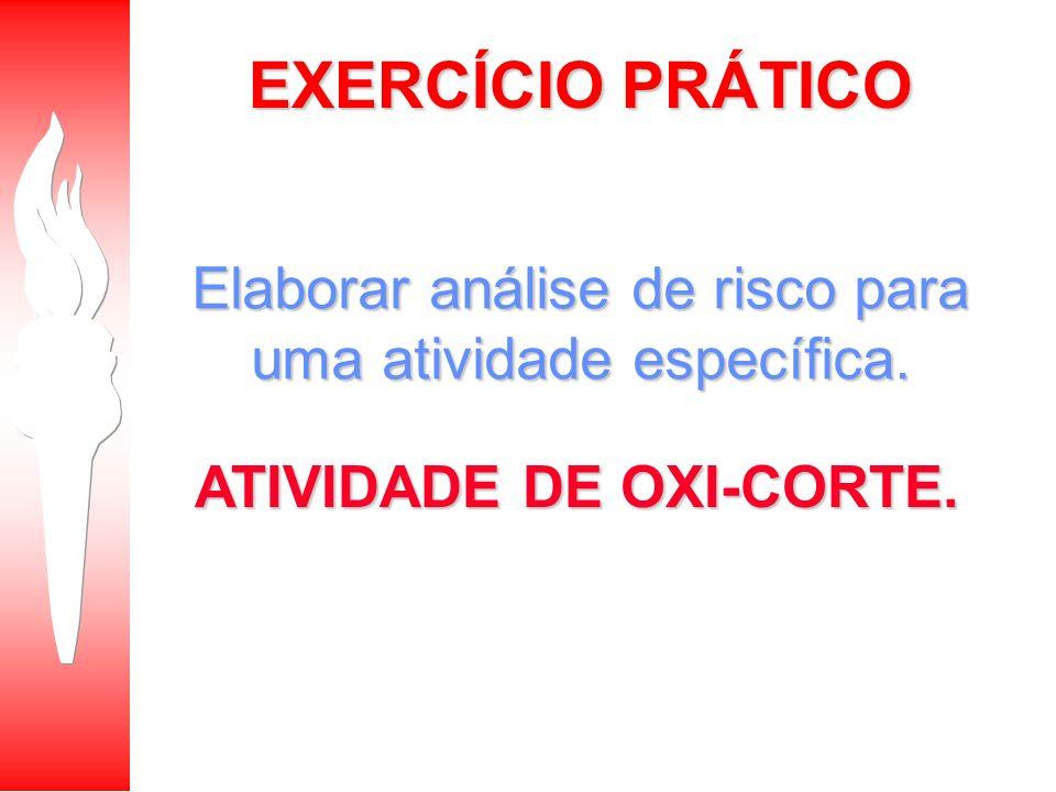 ATIVIDADE DE OXI-CORTE.