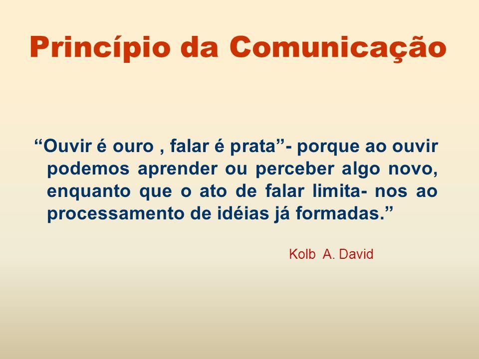 Princípio da Comunicação
