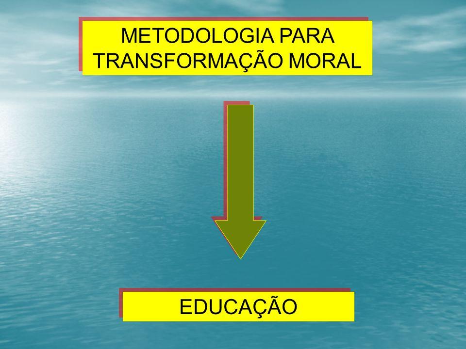 METODOLOGIA PARA TRANSFORMAÇÃO MORAL