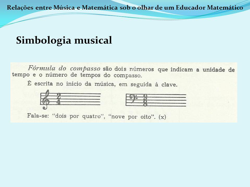 Relações entre Música e Matemática sob o olhar de um Educador Matemático