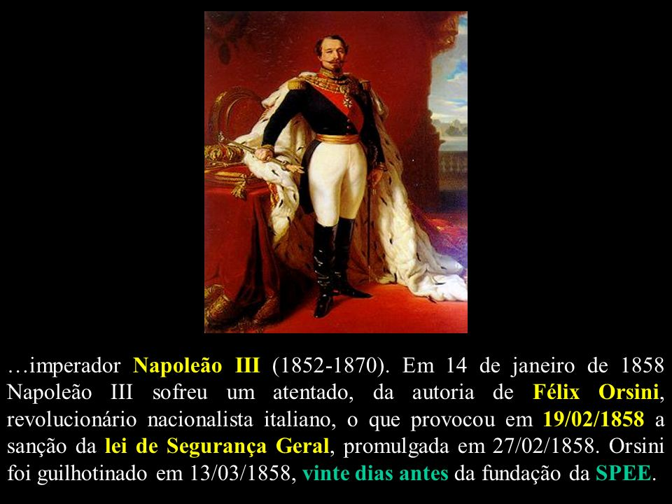 …imperador Napoleão III (1852-1870)