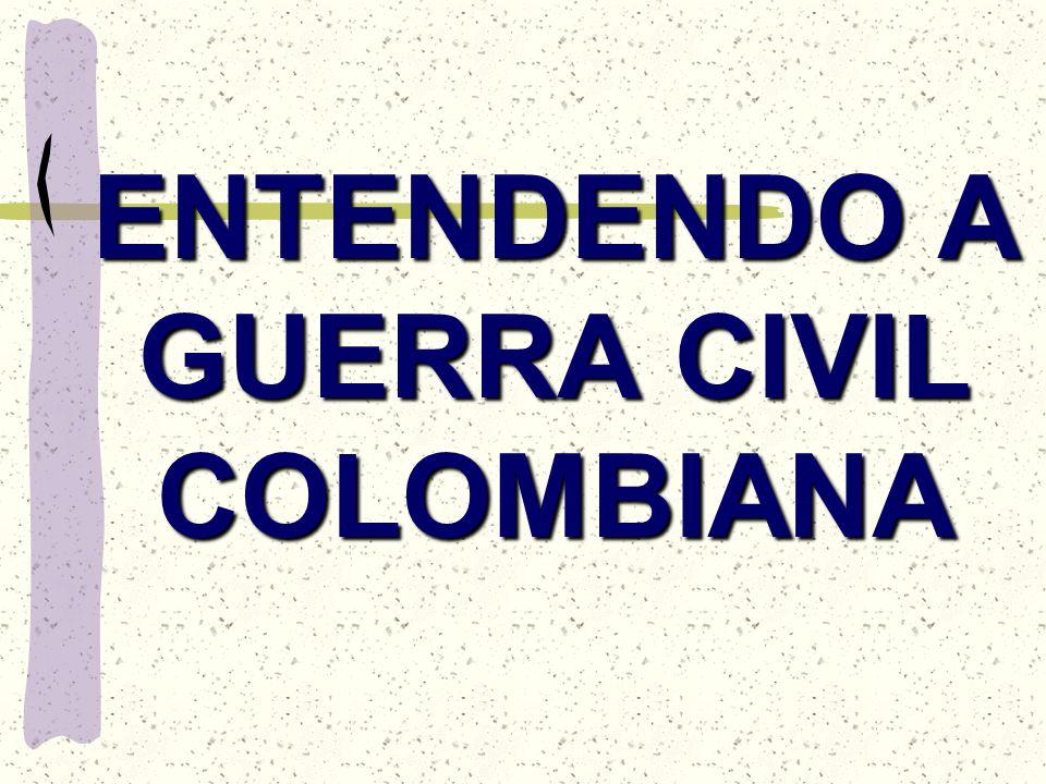 ENTENDENDO A GUERRA CIVIL COLOMBIANA