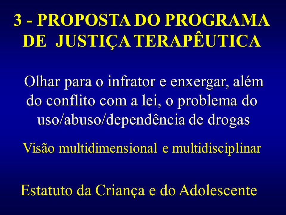 DE JUSTIÇA TERAPÊUTICA