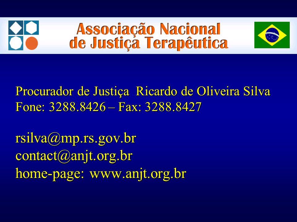 Procurador de Justiça Ricardo de Oliveira Silva Fone: 3288