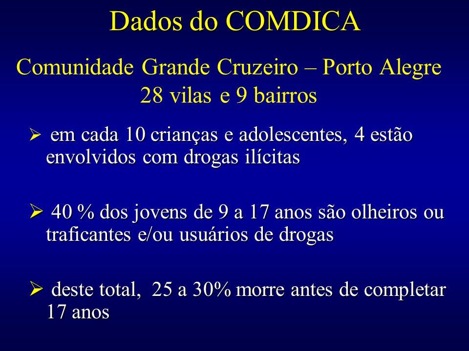 Comunidade Grande Cruzeiro – Porto Alegre 28 vilas e 9 bairros