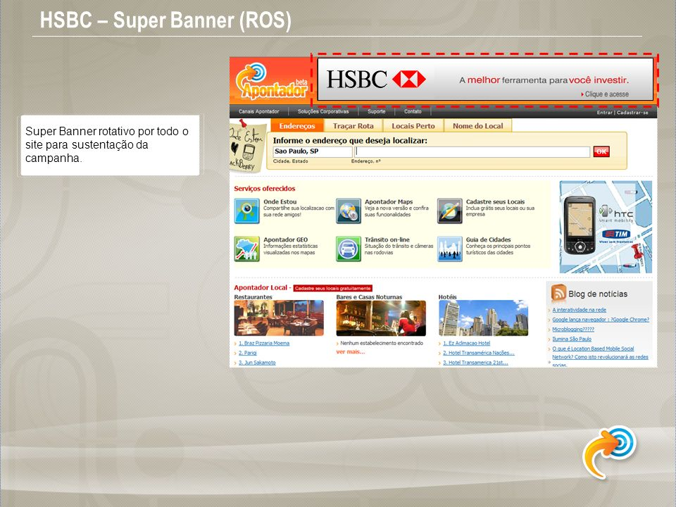 HSBC – Super Banner (ROS)
