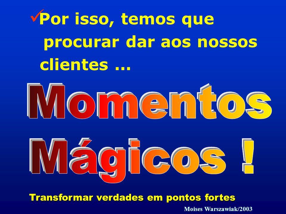 Momentos Mágicos ! Por isso, temos que procurar dar aos nossos