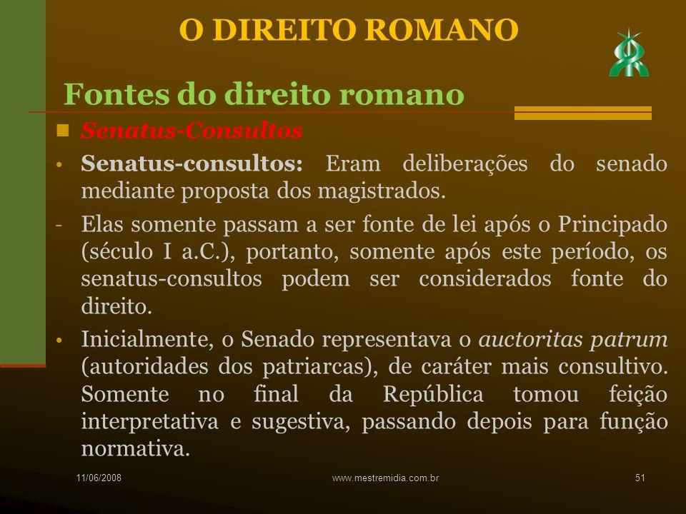 Fontes do direito romano
