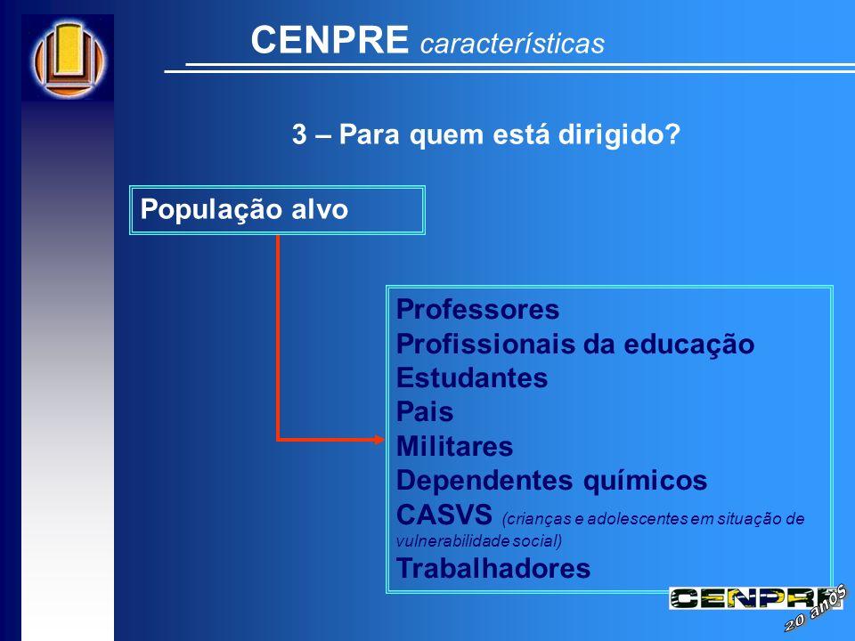 CENPRE características