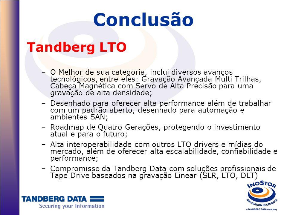 Conclusão Tandberg LTO