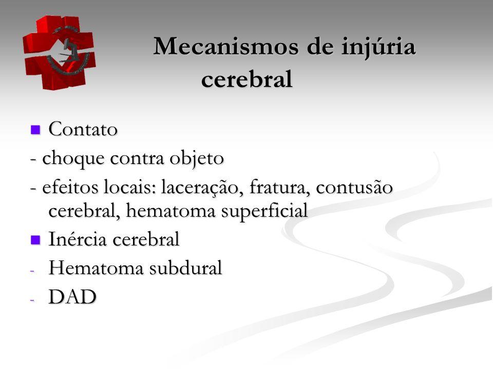 Mecanismos de injúria cerebral