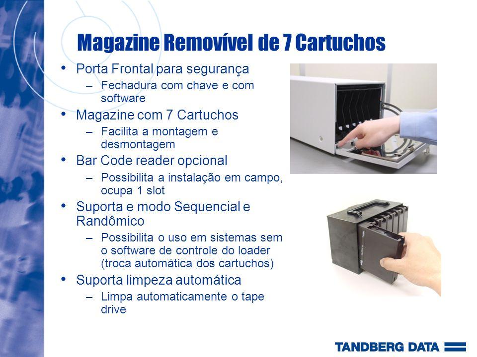 Magazine Removível de 7 Cartuchos