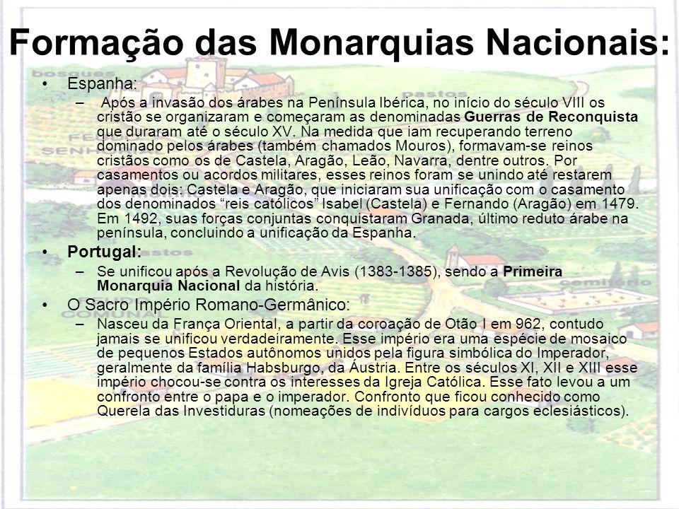 Formação das Monarquias Nacionais: