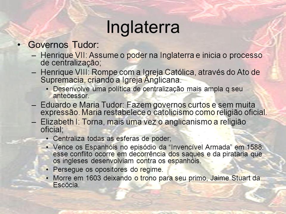 Inglaterra Governos Tudor:
